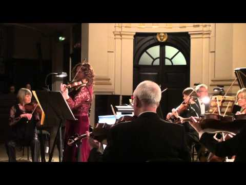 Bach Violin Concerto in A minor, 3rd movements, played by Lorraine McAslan