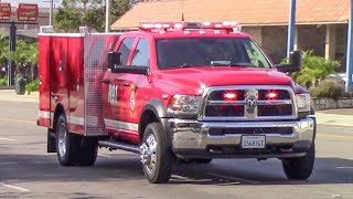 (New Rescue) Torrance Fire Dept. Rescue 91 & McCormick Amb. 1601