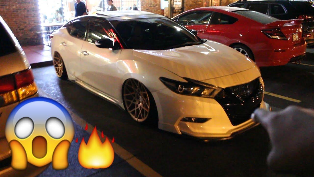 Slammed Nissan Maxima