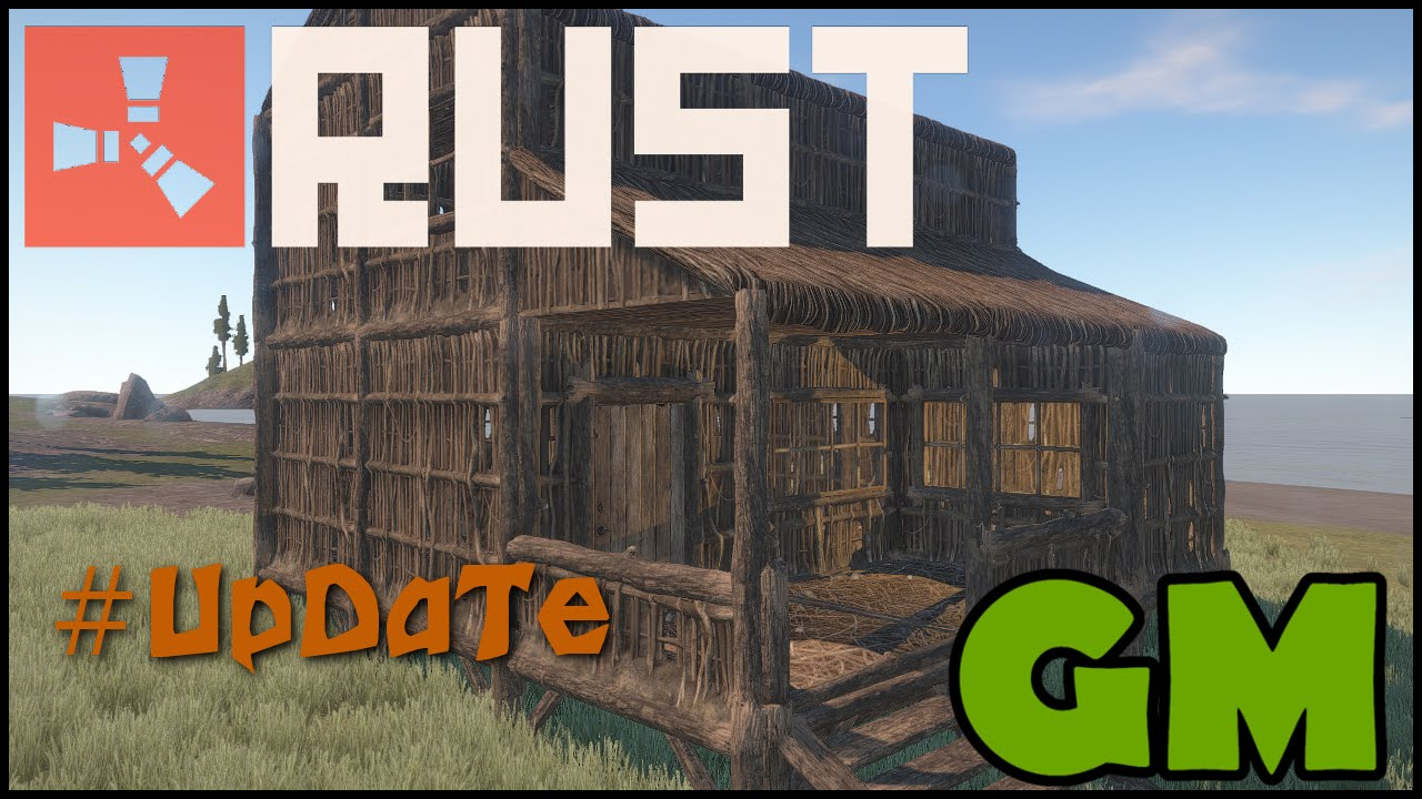 Rust Experimental Update Thatch Twig Houses Roofs 1000