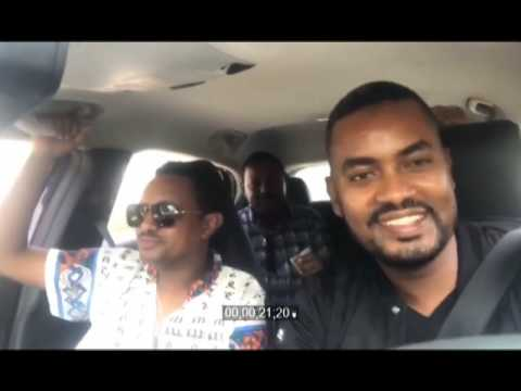New Teddy Afro Carpool karaoke with CCTV Girum Chala