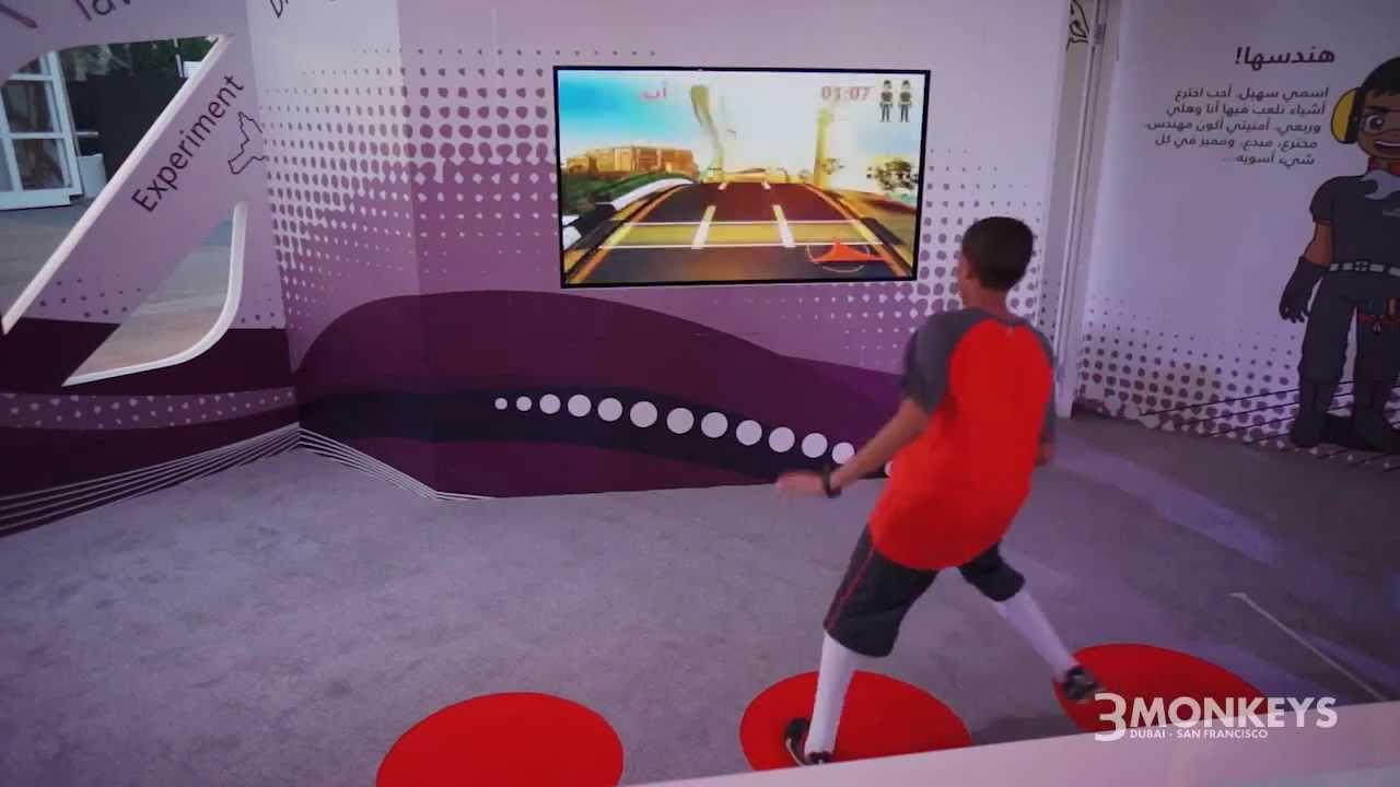 Hopathon Interactive floor sensor game