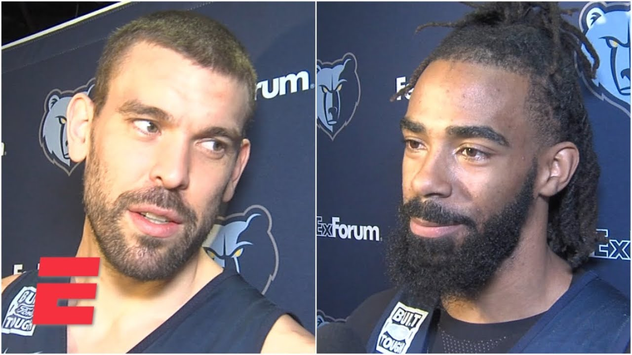 Marc Gasol, Mike Conley react to Grizzlies' trade rumors | NBA on ESPN