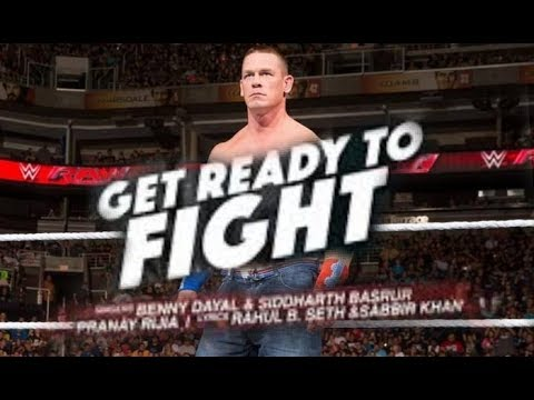 "WWE John Cena""Get Ready To Fight"""
