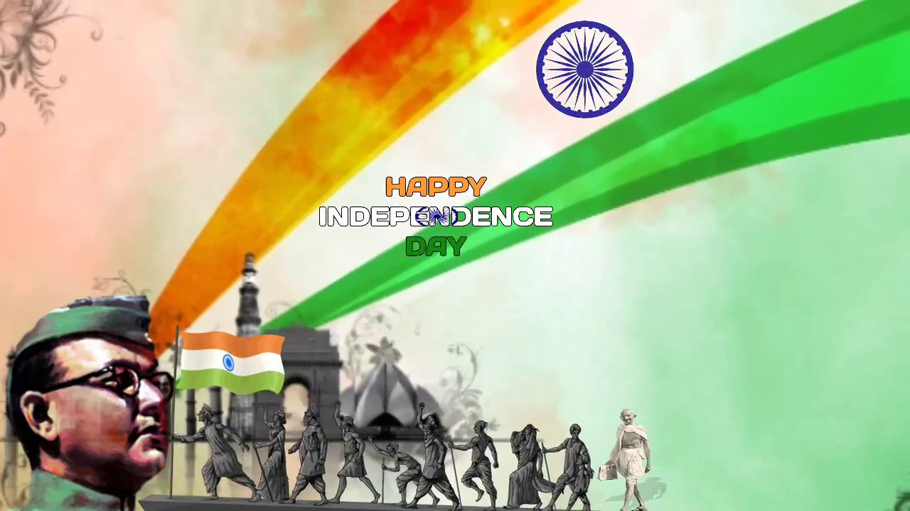 Happy Independence Day India Animated Gif Hd For Whatsapp Status