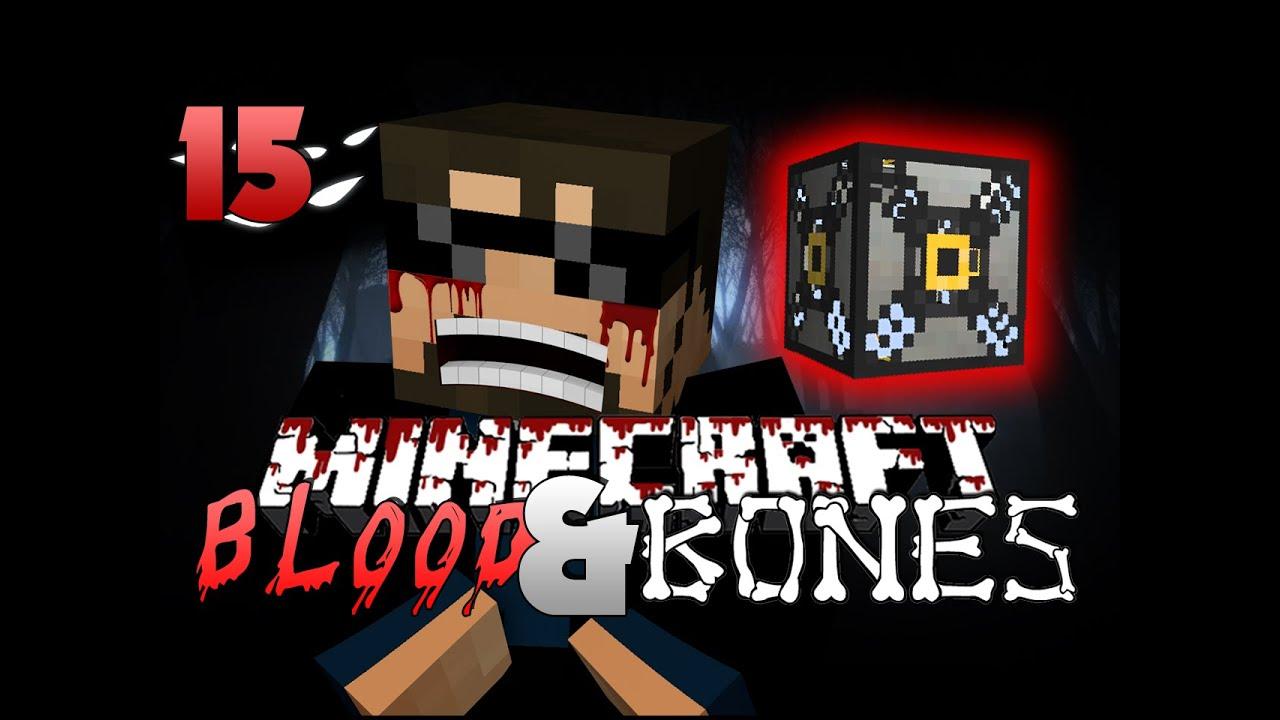 Minecraft FTB Blood and Bones 15 - MACHINE FRAME(Minecraft Mod Survival FTB)