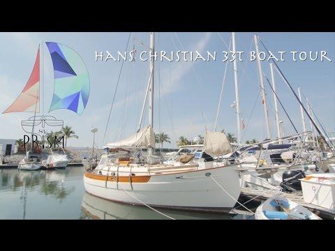 """Hans Christian 33 """"Prism"""" Boat Tour"""