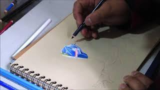 Fortnite: Drawing the OMEGA Skin
