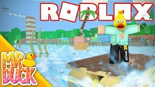 RAFT SURFING! - Roblox Escape The Shipyard Obby Remade