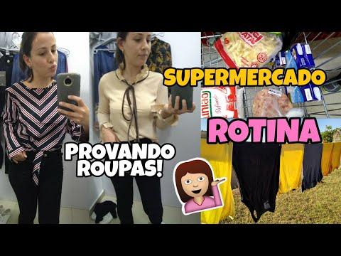 Rotina de dona de casa, provando roupas, compras no mercado! Tati Barbosa thumbnail