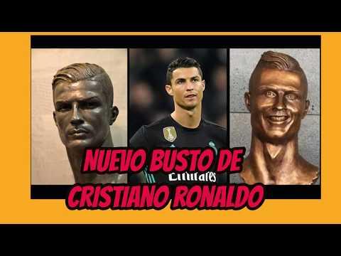 cristiano ronaldo nuevo busto