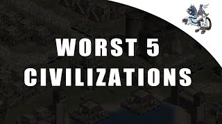Worst 5 Age of Empires Civilizations