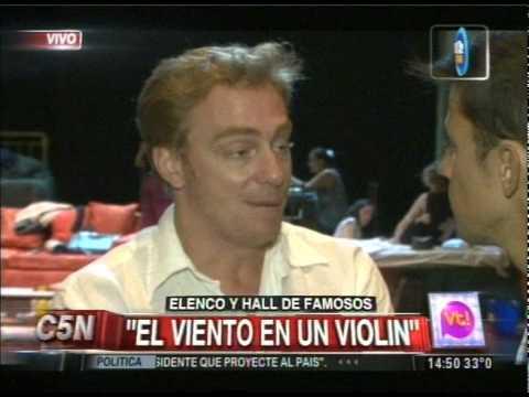 C5N - VIVA LA TARDE:  ENTREVISTA AL ELENCO DE: