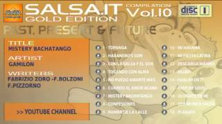 SALSA.IT VOL.10 GOLD EDITION:MISTERY BACHATANGO,GAMILON