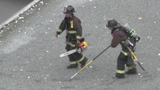 2017 Feb 5 — Apartment Fire, Oakland, CA