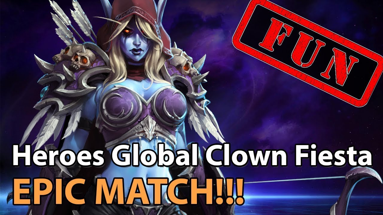 ► EPIC Heroes of the Storm - Crazy Fiesta game! Laughs guaranteed! - Heroes Lounge