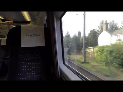Leaving Audley End On A Abellio Greater Anglia Class 379 (03/4/16)