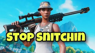 Fortnite Montage-Stop Snitchin (YG)