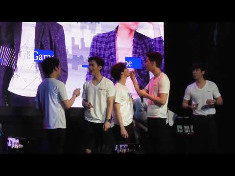 20171111 2moons fan meeting in manila-kiss game