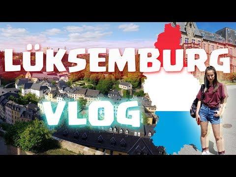LÜKSEMBURG VLOG - Luxembourg Travel Vlog