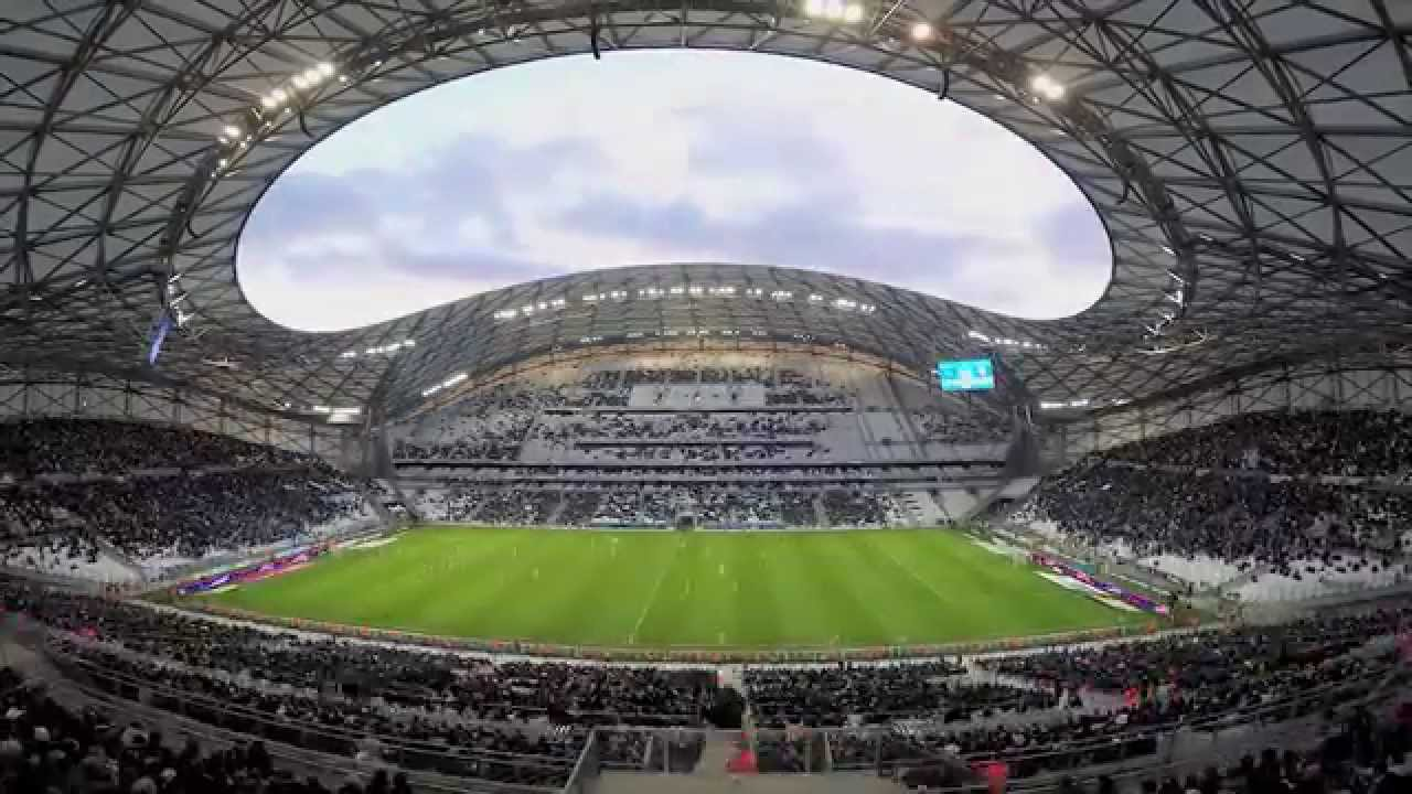 Time lapse stade v lodrome 2015 youtube for Porte 7 stade velodrome