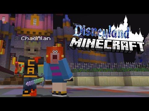 MINECRAFT MONDAY EP157 | EPIC DISNEYLAND SERVER! | GAMER CHAD & RADIOJH GAMES