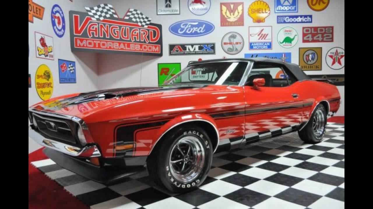 1971 ford mustang convertible classic muscle car for sale for Vanguard motors for sale
