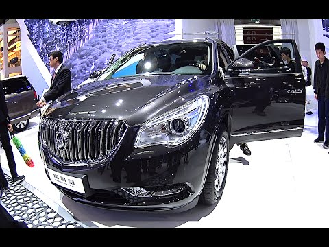 2016 2017 buick enclave suv s general motors china will
