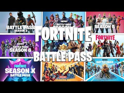 All Fortnite Battlepass Trailers (Seasons 1-13)