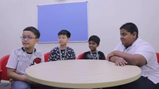 What do the children like about being at the British Council?