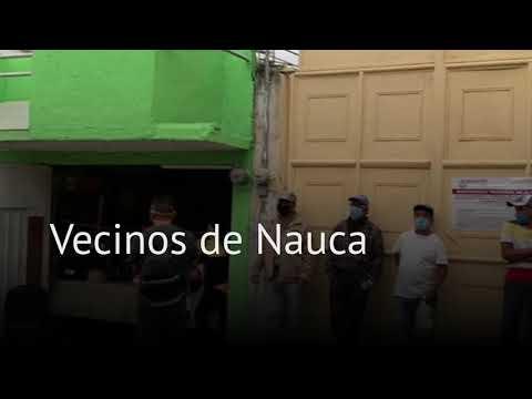 Vecinos de Naucalpan comparten alimentos en comedor comunitario