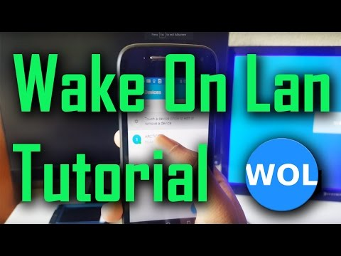Wake On Lan – Android App Tutorial