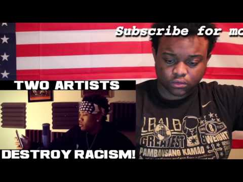 TWO ARTISTS DESTROY RACISM! Young Verse & Nakuu Prod. Joey Trife Reaction #82