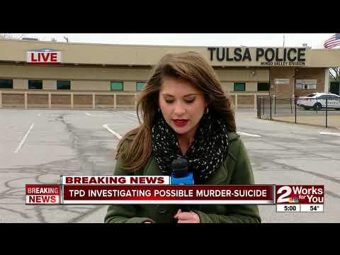 Police investigate murder suicide in East Tulsa
