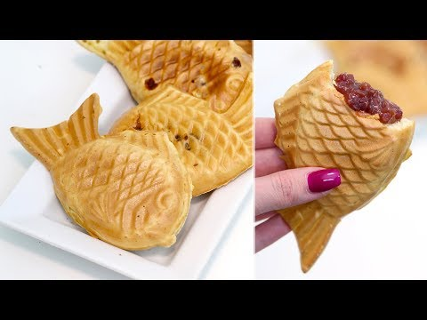 How To Make Taiyaki | Japanese Fish Pancakes With Red Bean Filling | RECIPE | ASTROLOGY RECIPES
