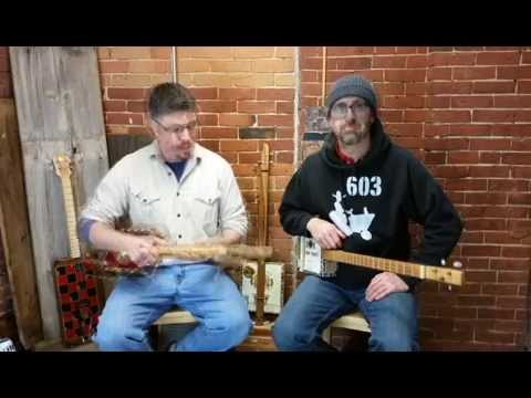 How to Tune a 3-string Cigar Box Guitar to Open G GDG