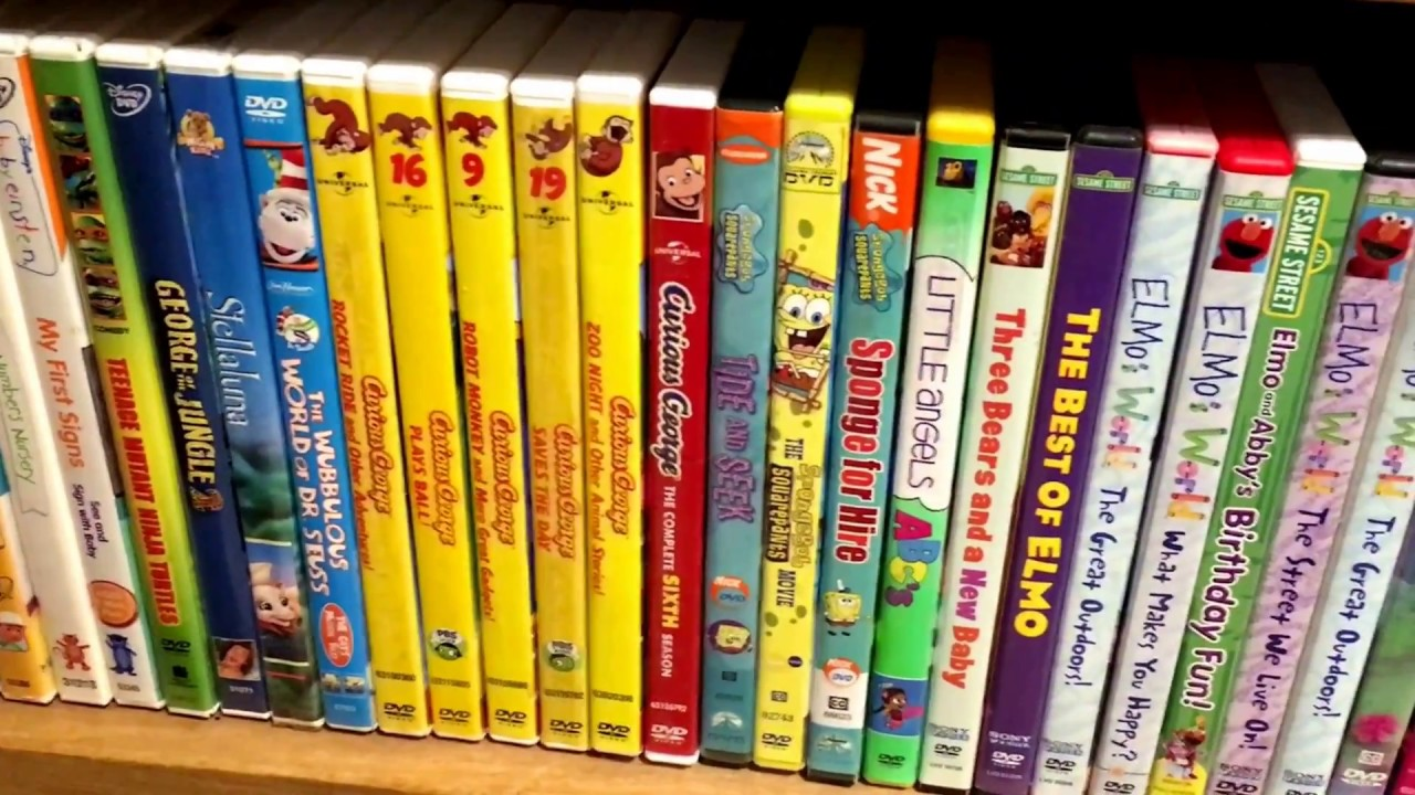 Kids DVD Movie Collection 12/24/17 - Dora The Explorer Elmo Max & Ruby ++ -  Lohn New And Used