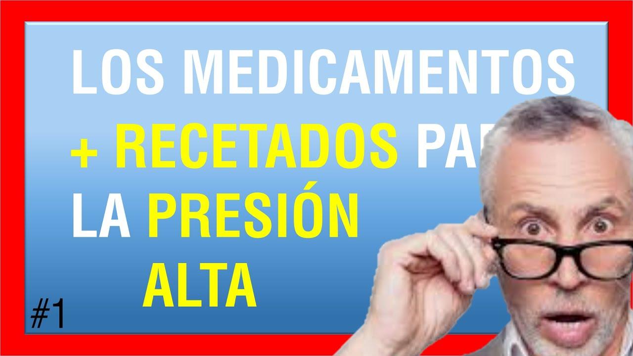medicamento para la presión arterial alta