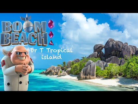 Boom Beach Dr.T's Tropical Island Stages 1-7 (4 July 2020)