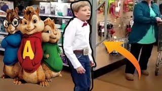 [Chipmunk Version] Walmart Kid Singing | Full Version