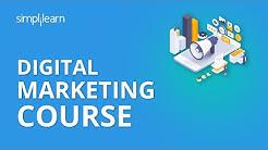 Digital Marketing Course | Digital Marketing Tutorial For Beginners | Digital Marketing |Simplilearn
