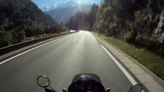 Motorcycle Expedition - video footage of
