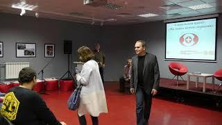Вторая часть встречи ''Мы можем помочь первыми'' в Российской гоcударственной библиотеке для молодежи.