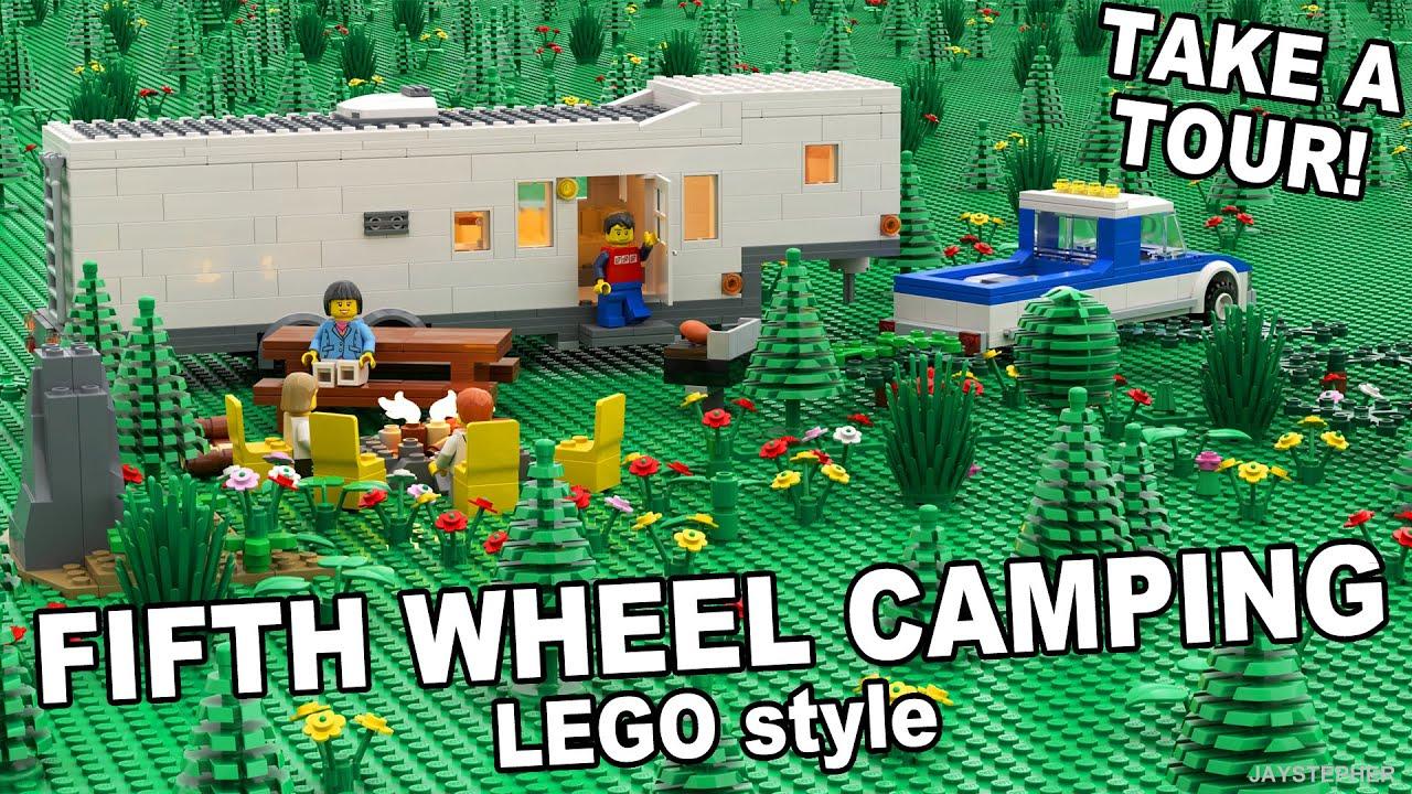 Lego Fifth Wheel Building Videos