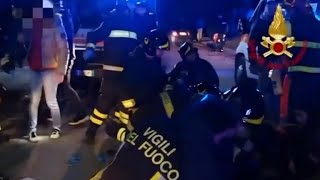 6 dead in stampede at rap concert in Italy