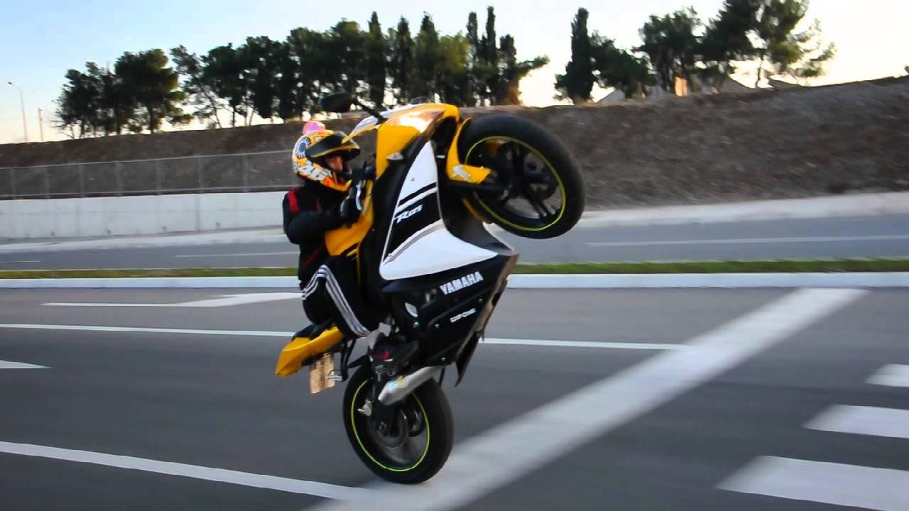 Yamaha R125 Long Wheelie