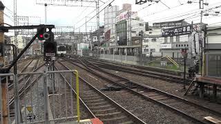 大和西大寺車庫へ送り込み 回送電車到着!! 近鉄9820系
