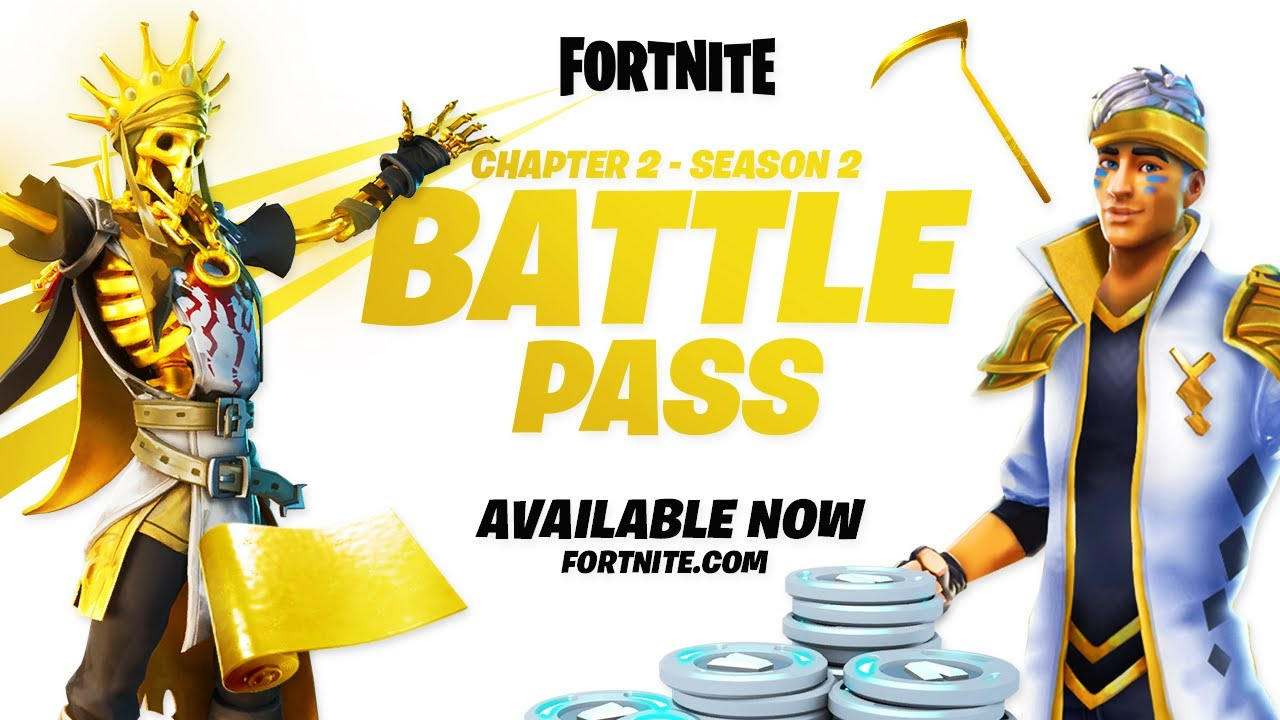 Fortnite Chapter 2 - Season 2 | Battle Pass Reveal Trailer ...