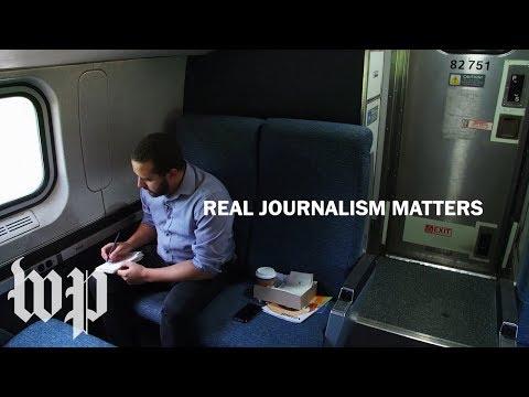 Real Journalism Matters   The Washington Post