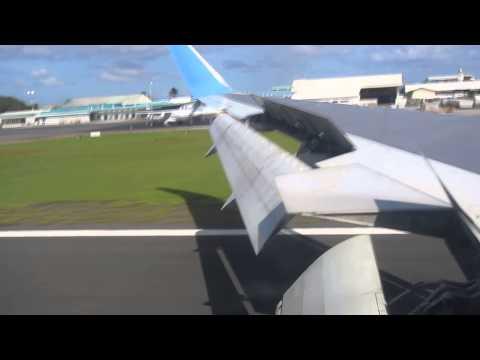 Incredible Maldives: Neos Air arriving in Ibrahim Nasir International Airport in Malé